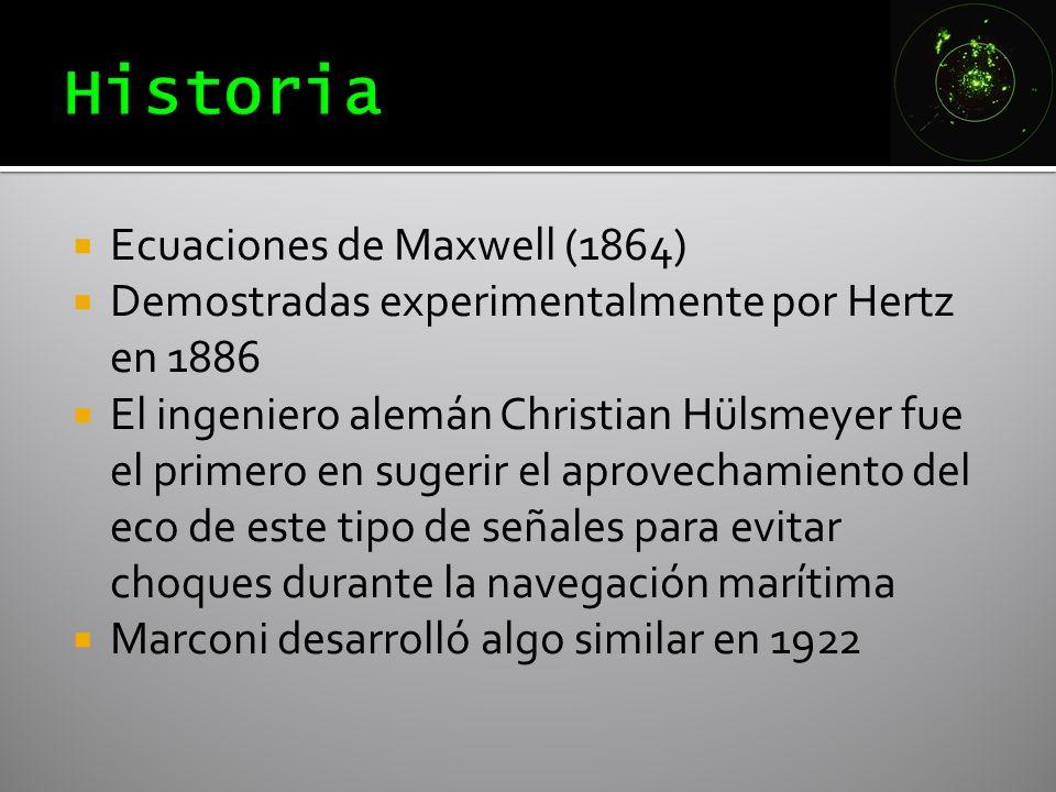Historia Ecuaciones de Maxwell (1864)