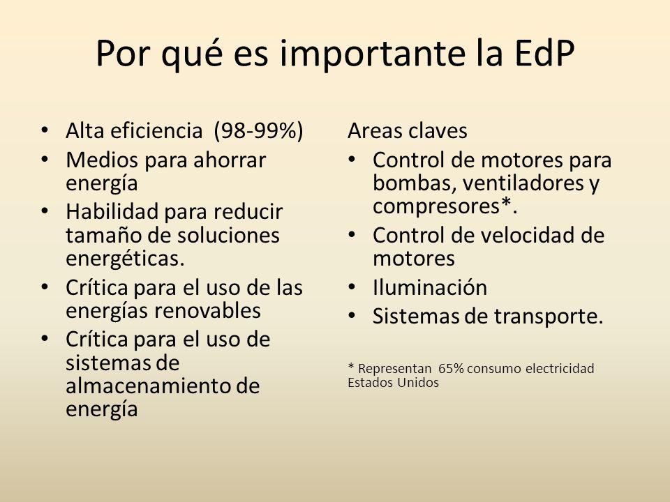 Por qué es importante la EdP