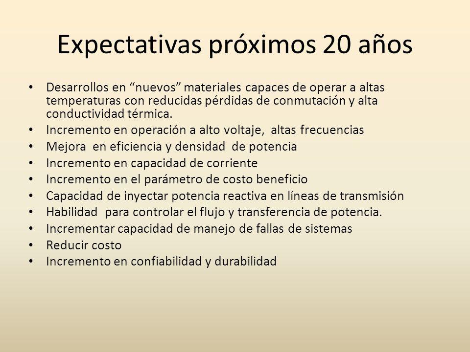 Expectativas próximos 20 años