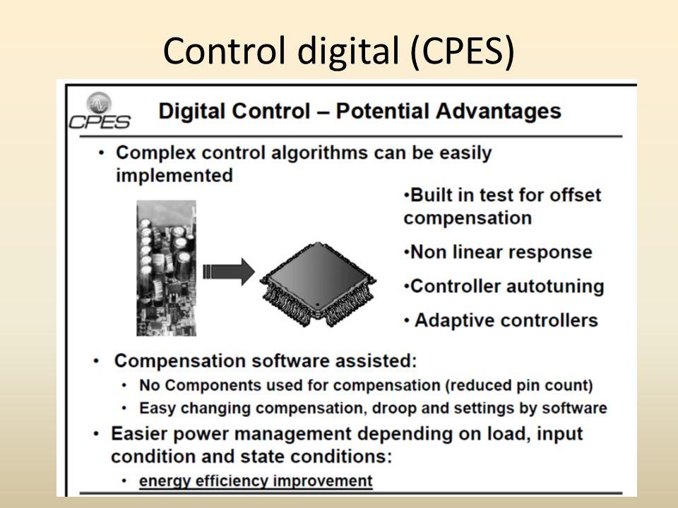 Control digital (CPES)
