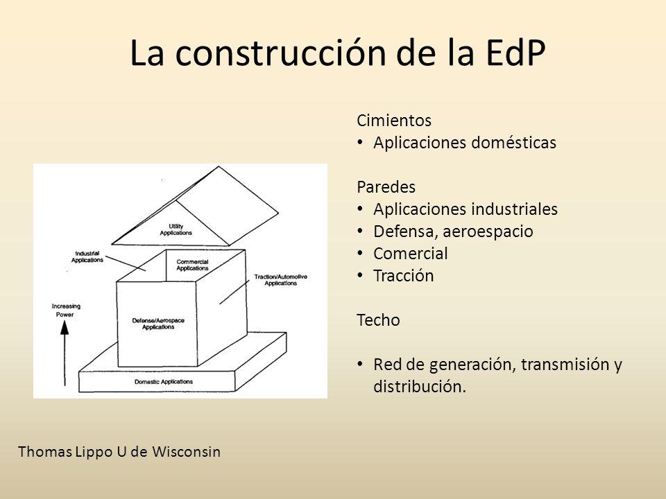 La construcción de la EdP