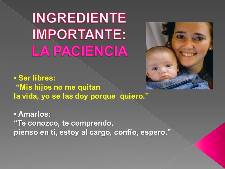 INGREDIENTE IMPORTANTE: