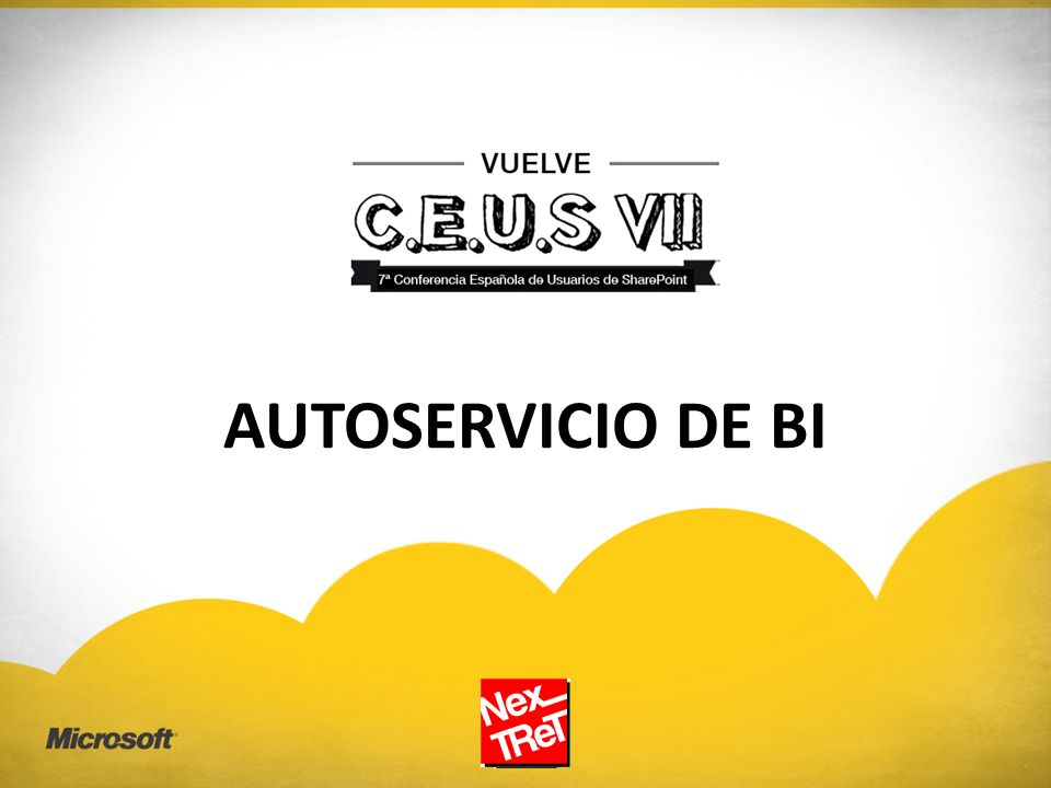 AUTOSERVICIO DE BI