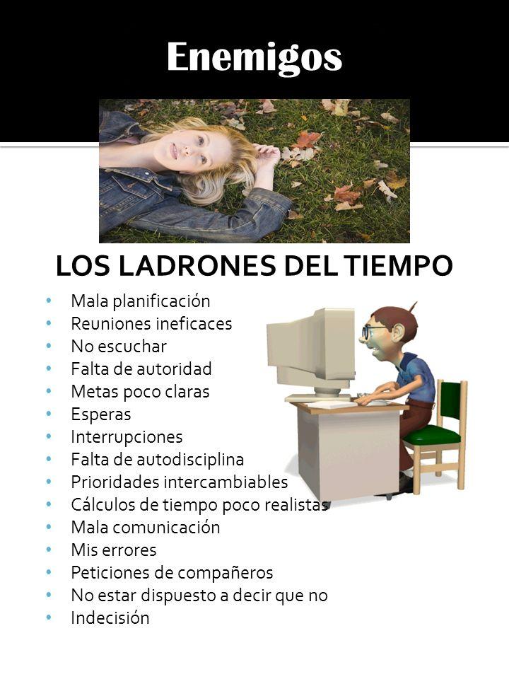 LOS LADRONES DEL TIEMPO