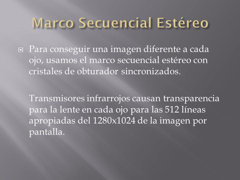 Marco Secuencial Estéreo