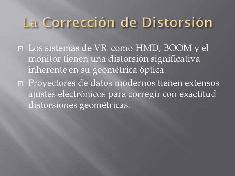 La Corrección de Distorsión