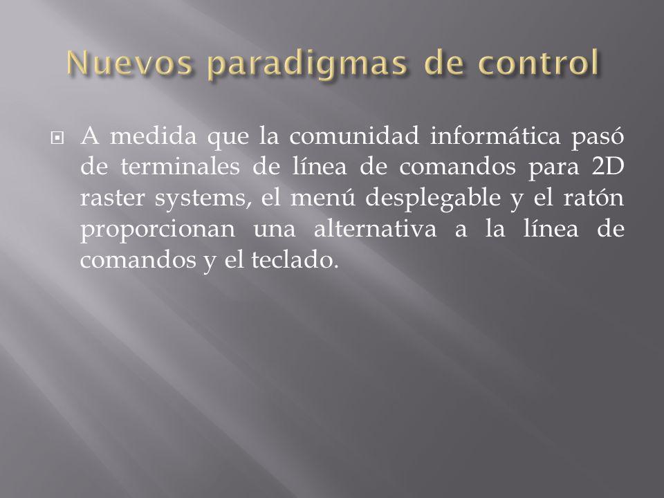 Nuevos paradigmas de control