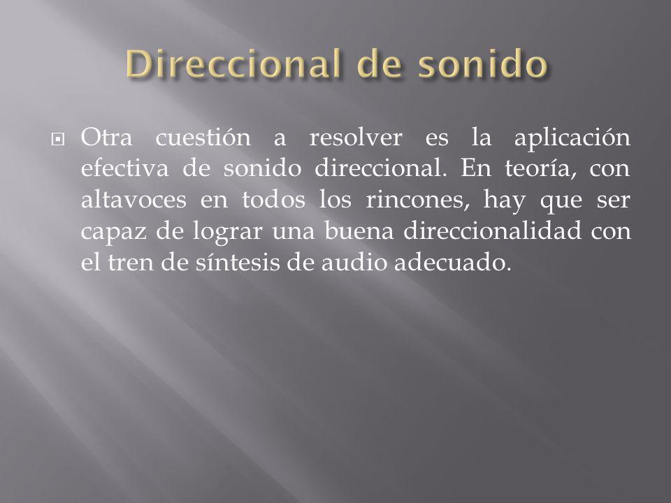 Direccional de sonido