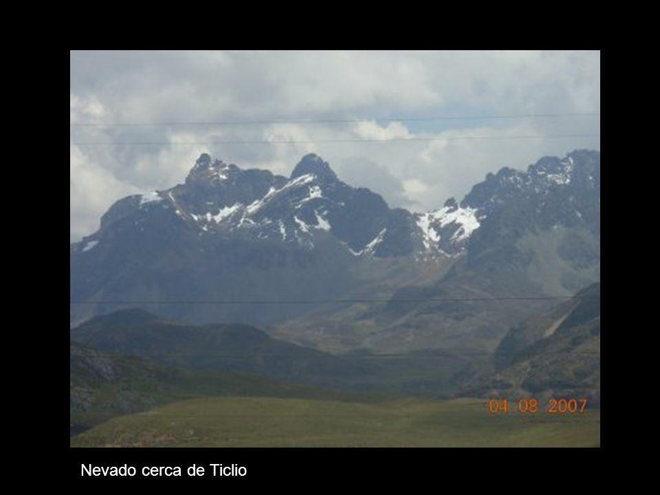 Nevado cerca de Ticlio