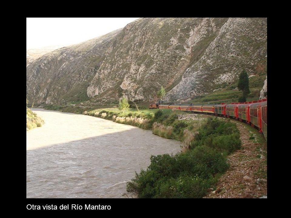 Otra vista del Río Mantaro