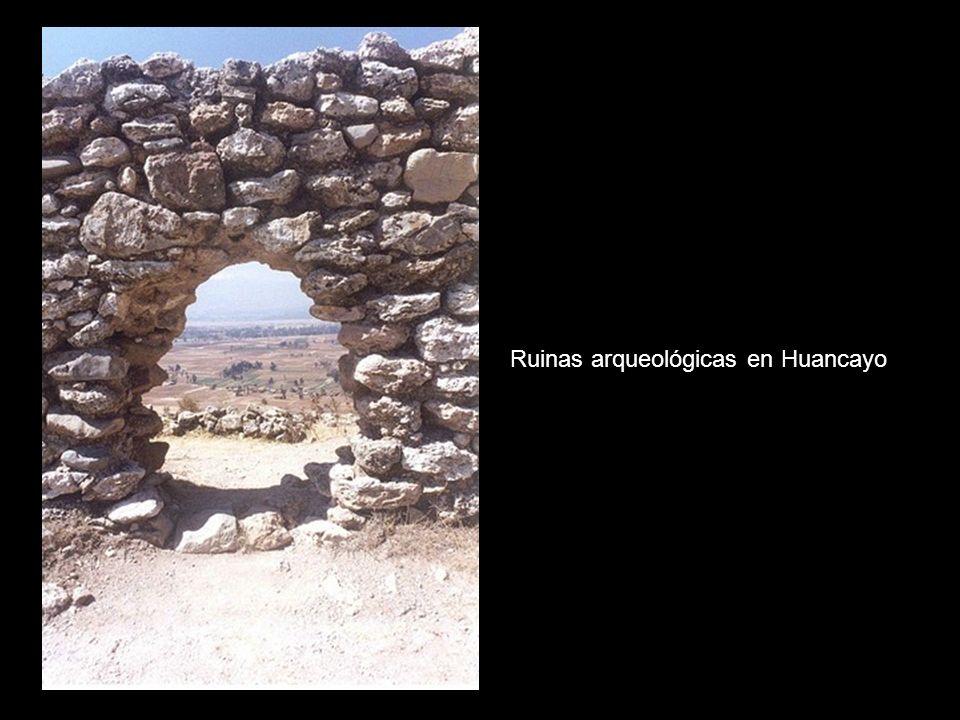Ruinas arqueológicas en Huancayo