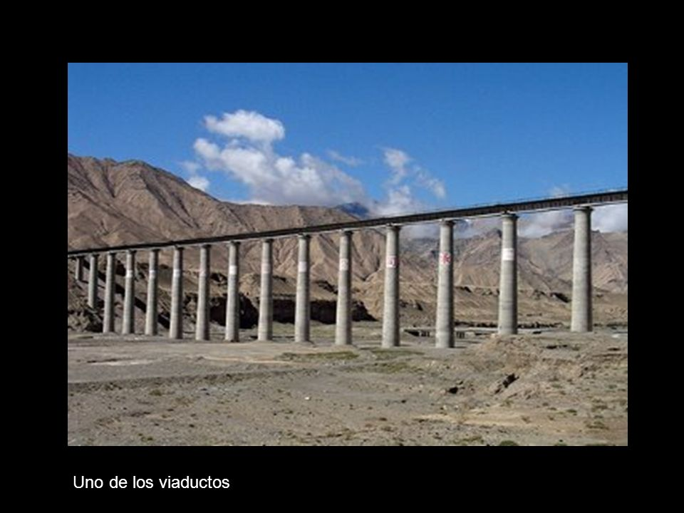 Uno de los viaductos