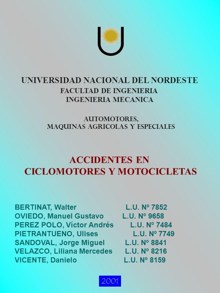 MAQUINAS AGRICOLAS Y ESPECIALES CICLOMOTORES Y MOTOCICLETAS
