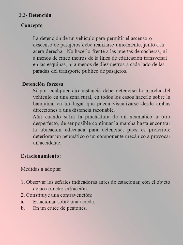 3.3- Detención Concepto.