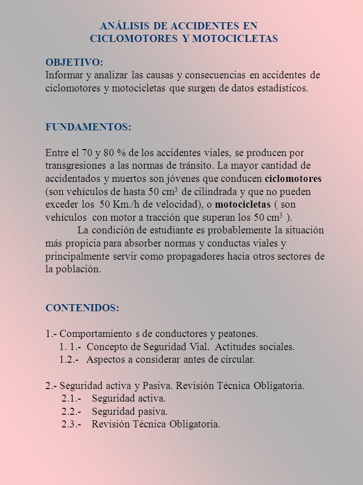 ANÁLISIS DE ACCIDENTES EN