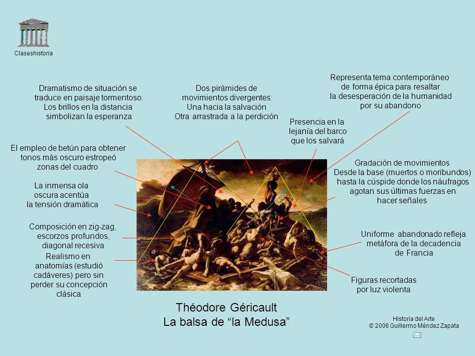 Théodore Géricault La balsa de la Medusa