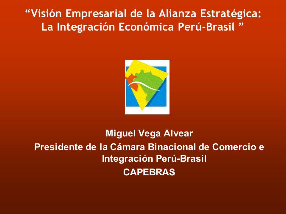 Visión Empresarial de la Alianza Estratégica: La Integración Económica Perú-Brasil