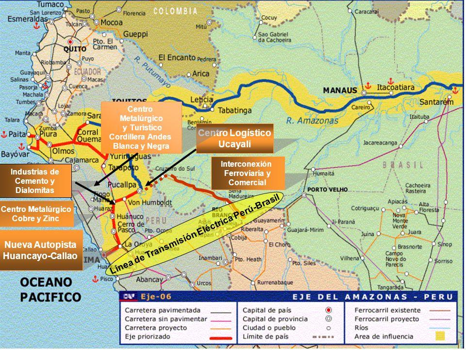 Línea de Transmisión Eléctrica Perú-Brasil