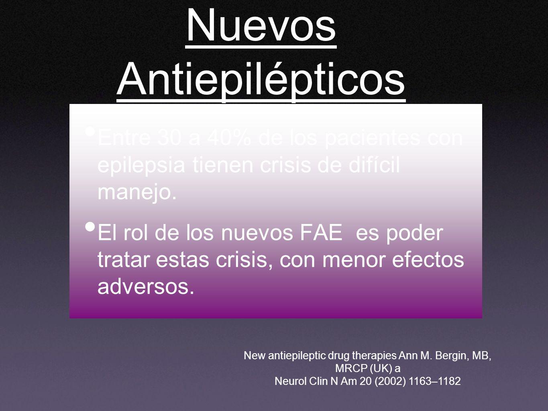 Nuevos Antiepilépticos