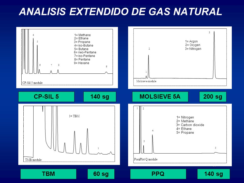 ANALISIS EXTENDIDO DE GAS NATURAL