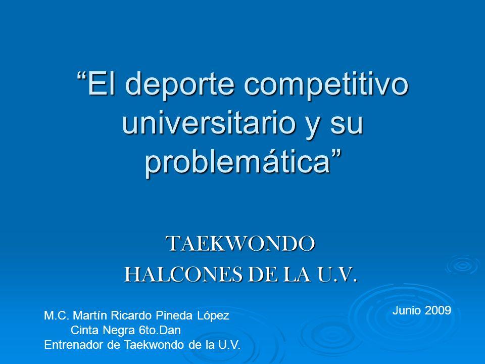El deporte competitivo universitario y su problemática