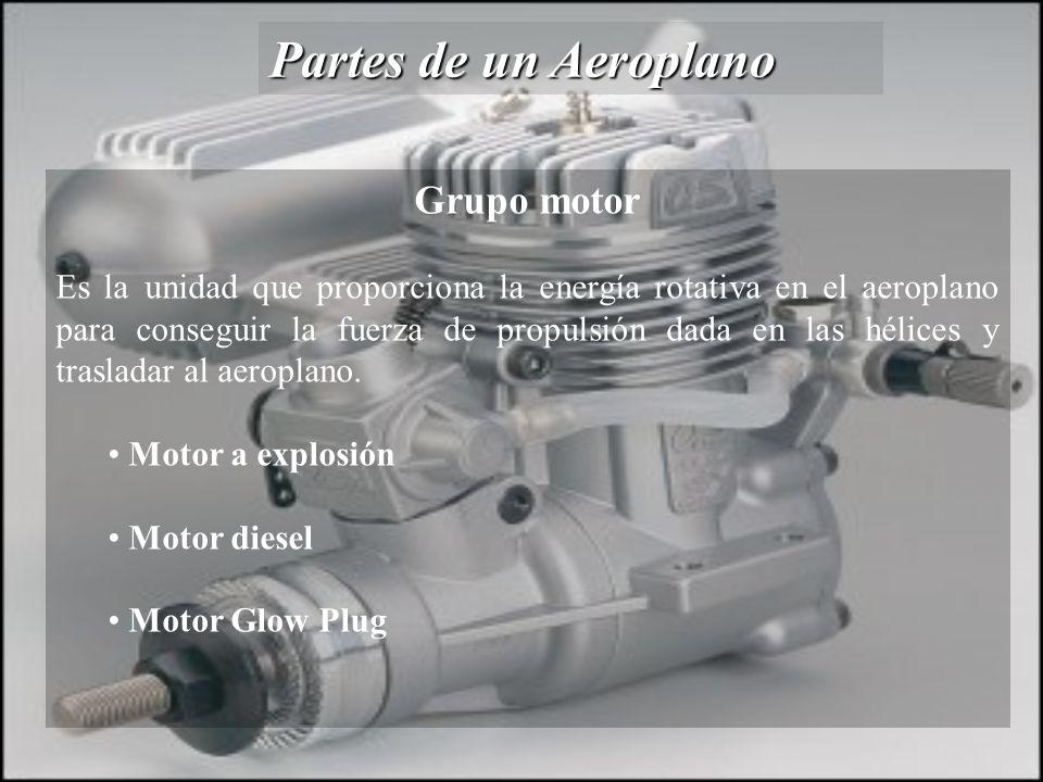 Partes de un Aeroplano Grupo motor