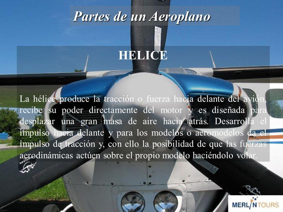 Partes de un Aeroplano HELICE