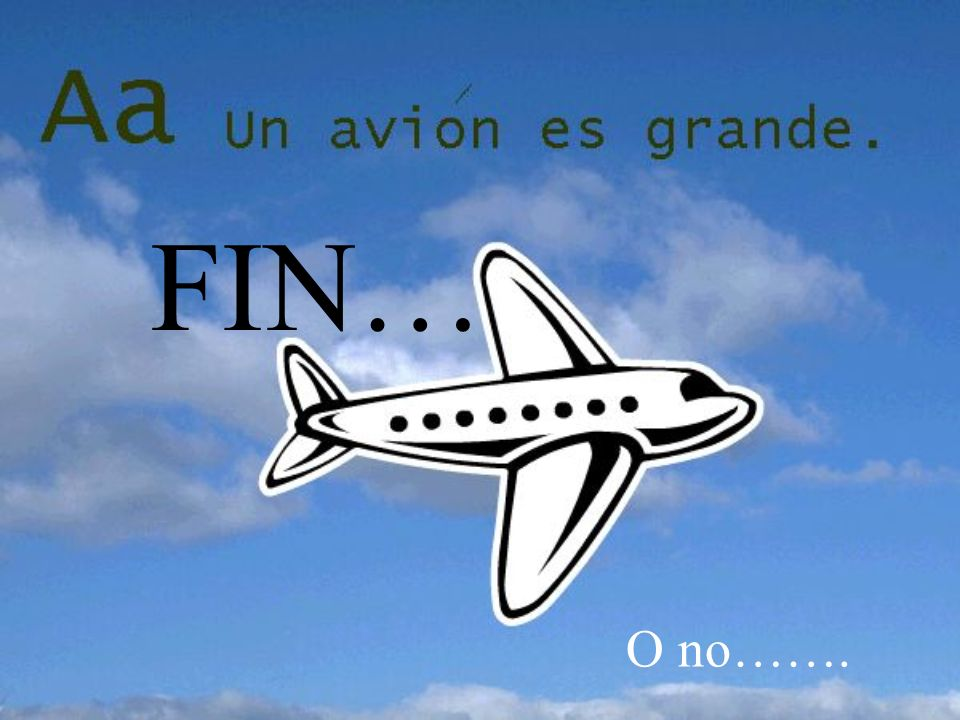 FIN… O no…….