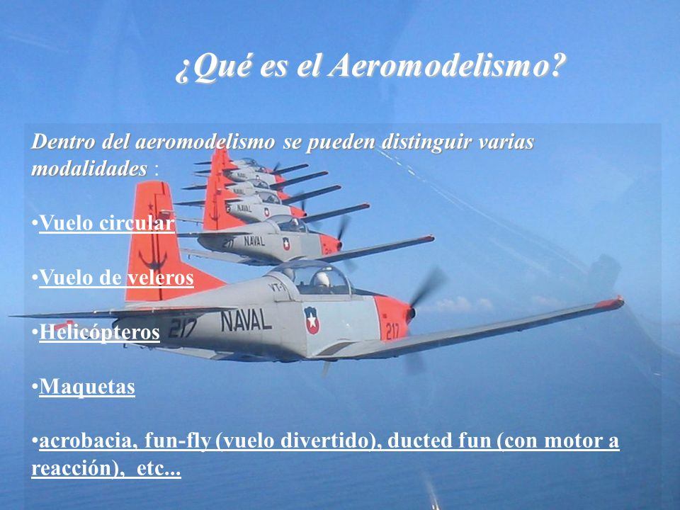 ¿Qué es el Aeromodelismo