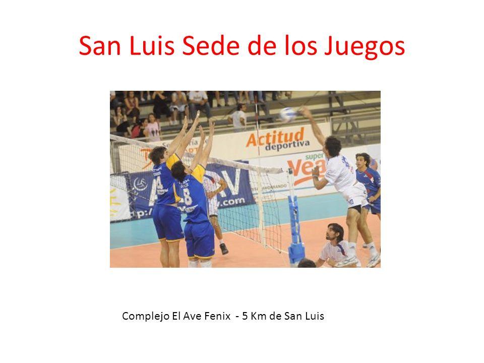 San Luis Sede de los Juegos