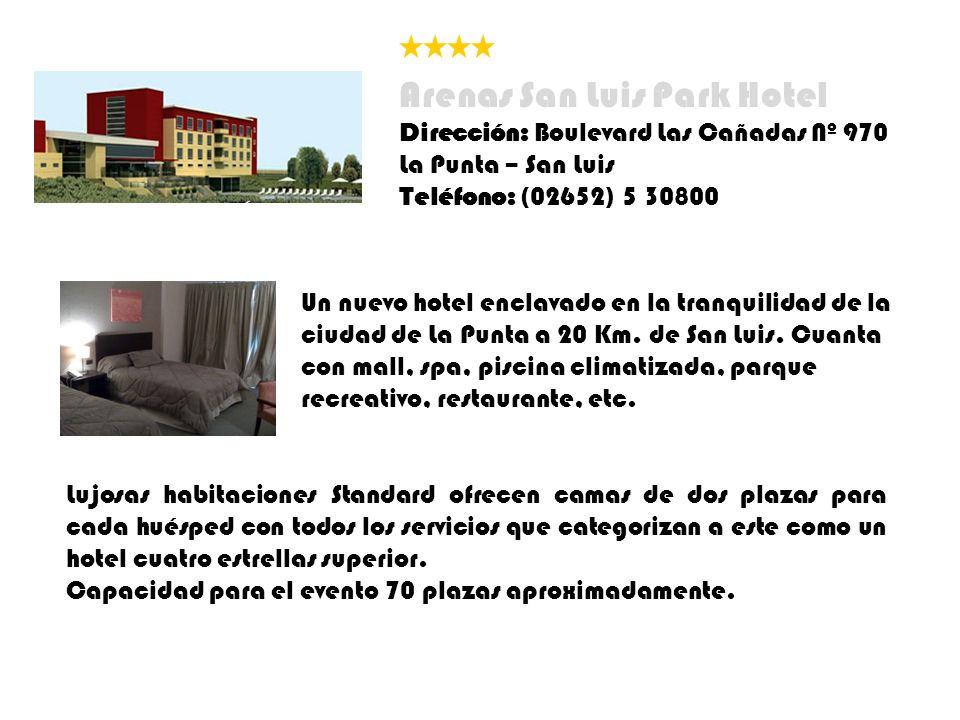 Arenas San Luis Park Hotel