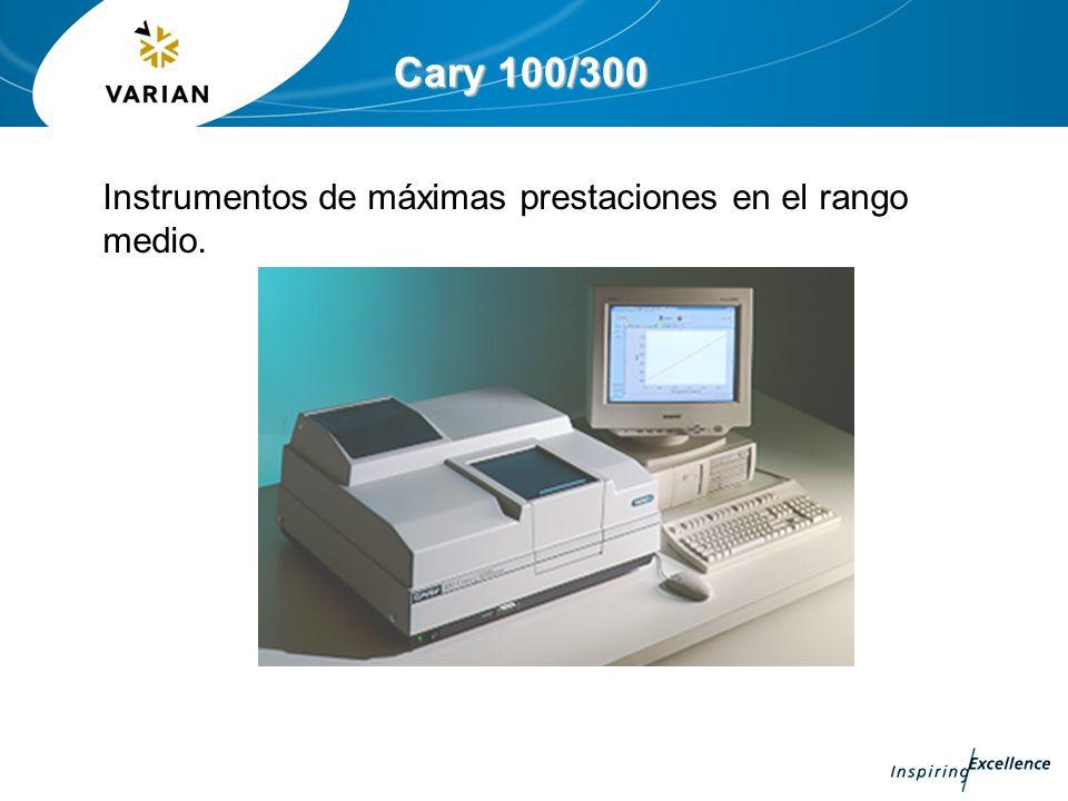 Cary 100/300 Instrumentos de máximas prestaciones en el rango medio.