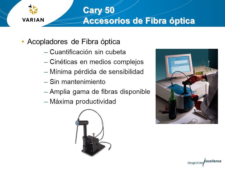 Cary 50 Accesorios de Fibra óptica