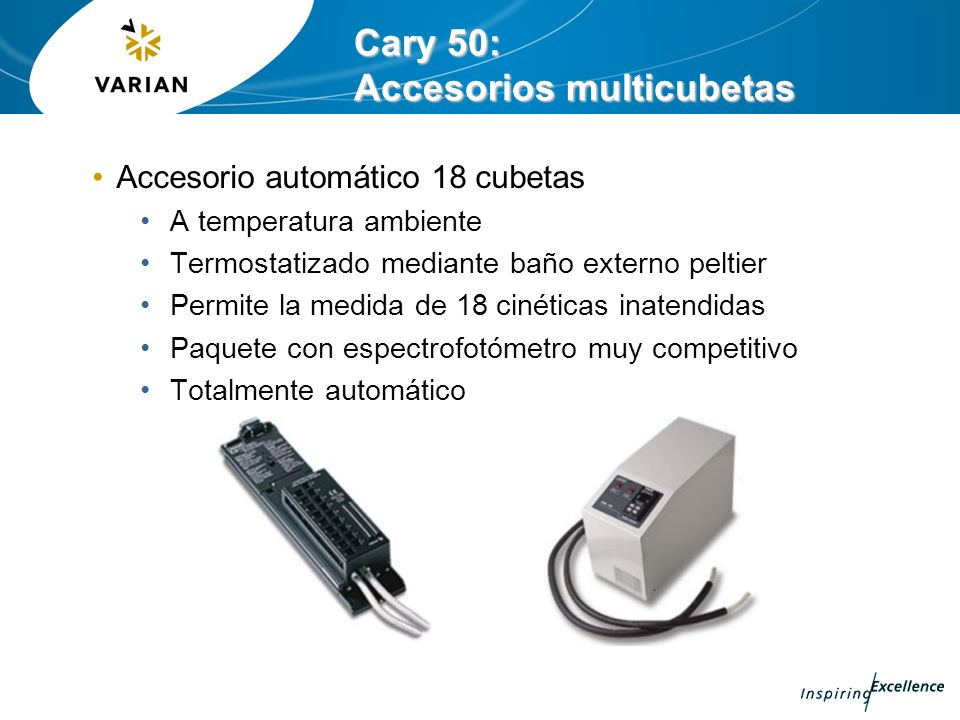 Cary 50: Accesorios multicubetas