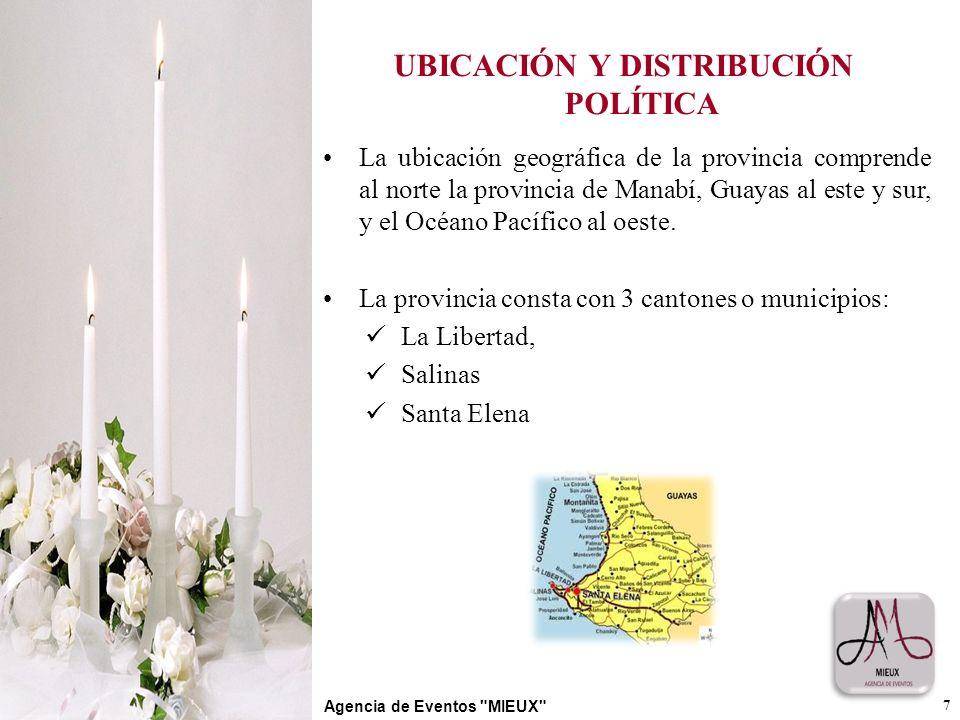 UBICACIÓN Y DISTRIBUCIÓN POLÍTICA