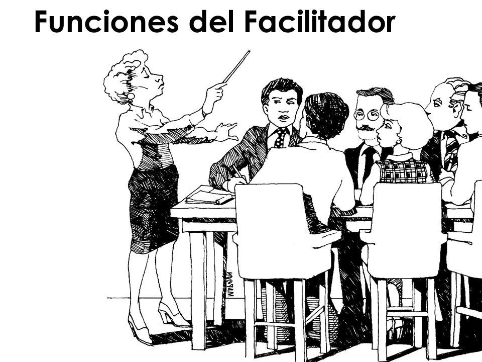 Funciones del Facilitador