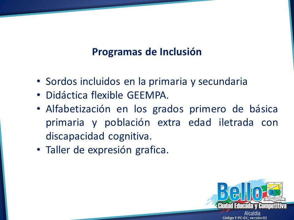 Programas de Inclusión