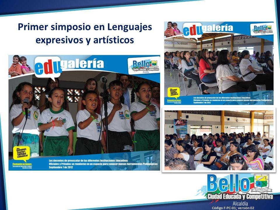 Primer simposio en Lenguajes expresivos y artísticos
