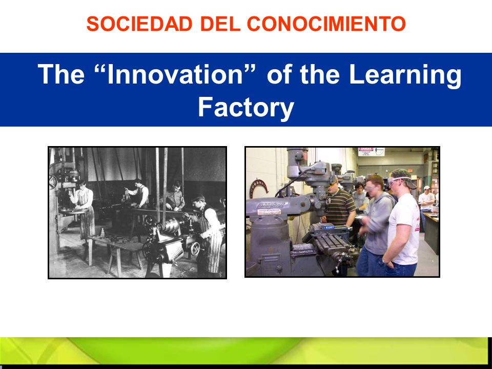 The Innovation of the Learning Factory
