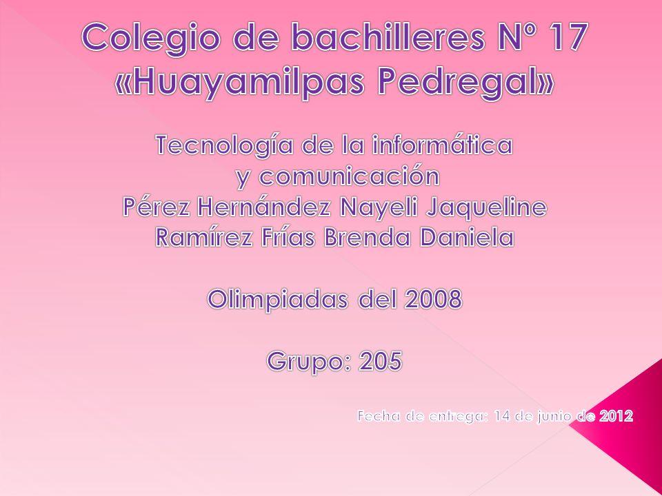Colegio de bachilleres Nº 17 «Huayamilpas Pedregal»