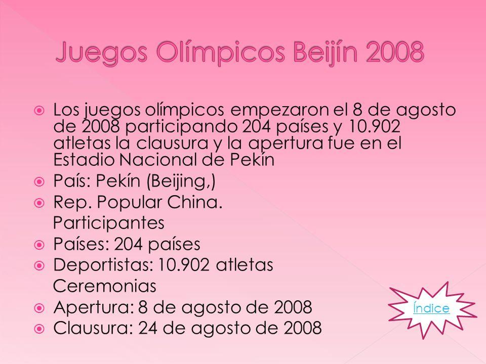 Juegos Olímpicos Beijín 2008