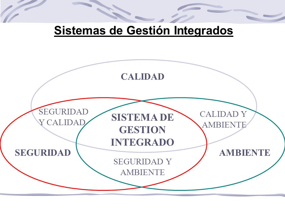 Sistemas de Gestión Integrados SISTEMA DE GESTION INTEGRADO