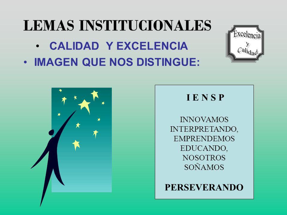 LEMAS INSTITUCIONALES