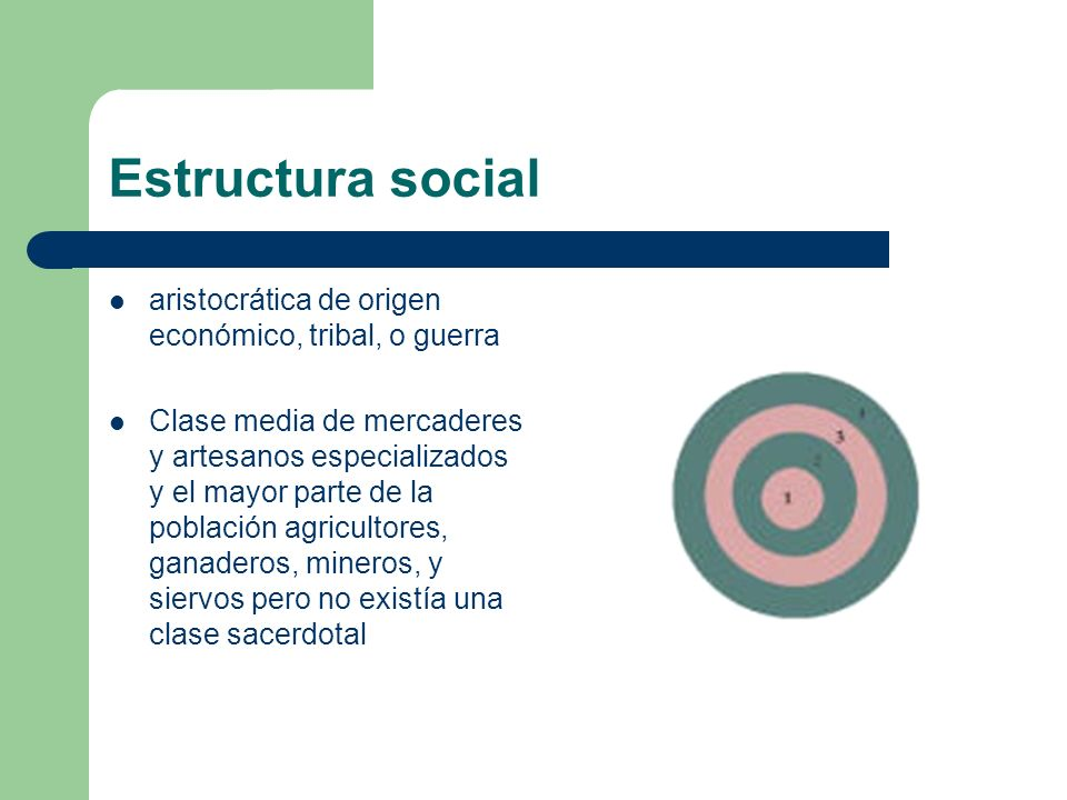 Estructura social aristocrática de origen económico, tribal, o guerra