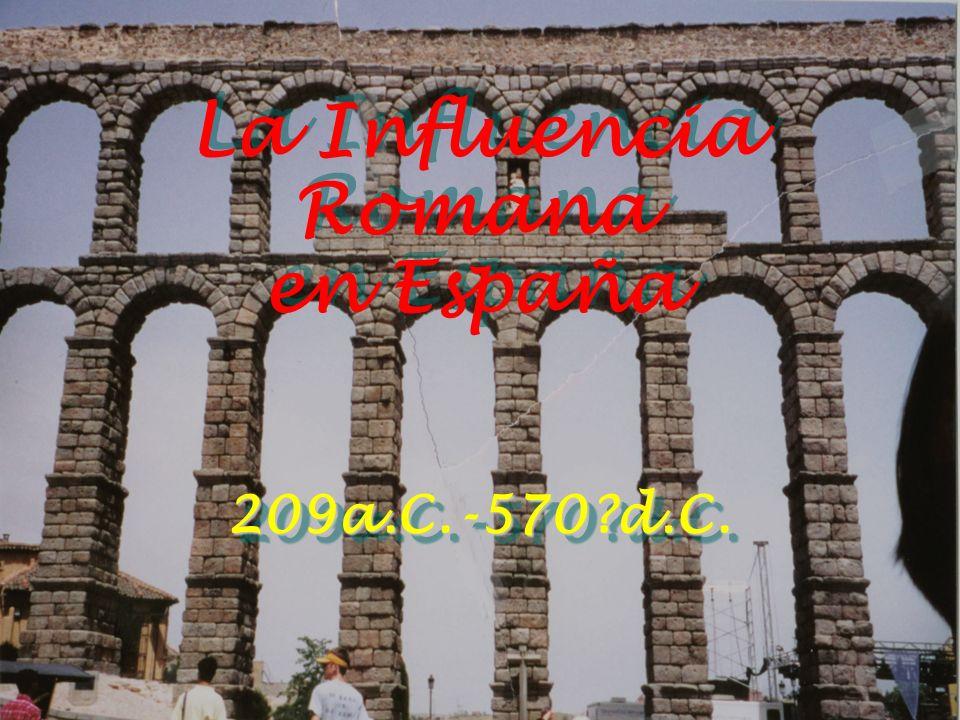 La Influencia Romana en España