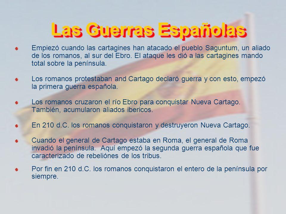 Las Guerras Españolas
