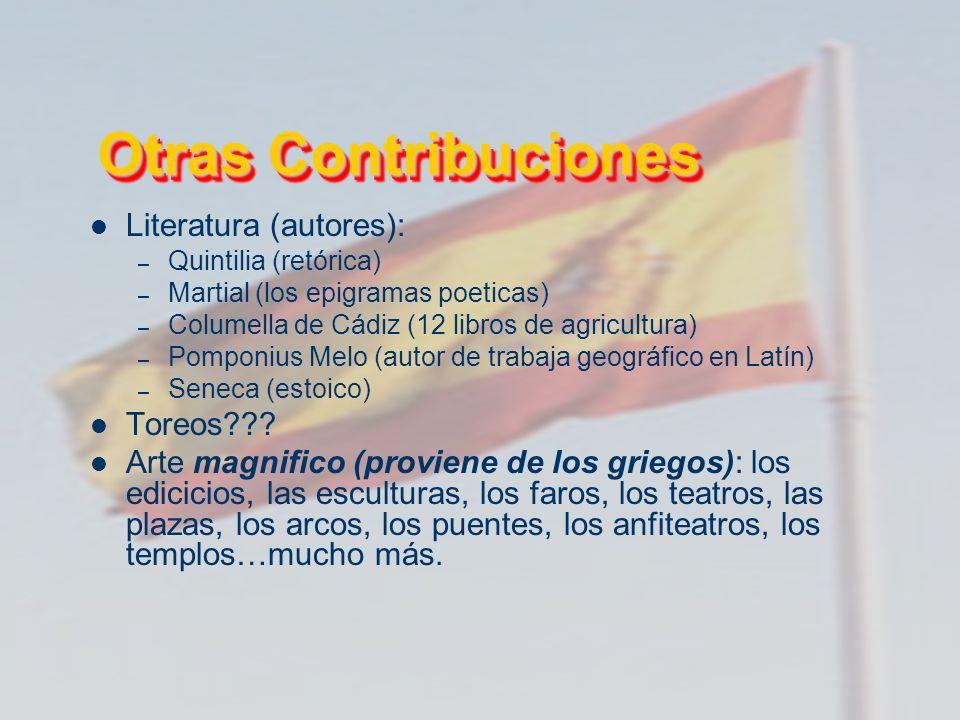 Otras Contribuciones Literatura (autores): Toreos
