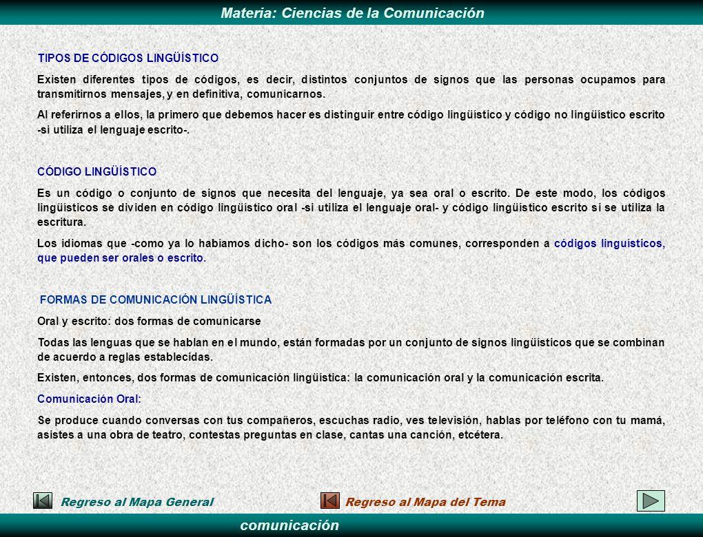 TIPOS DE CÓDIGOS LINGÜÍSTICO
