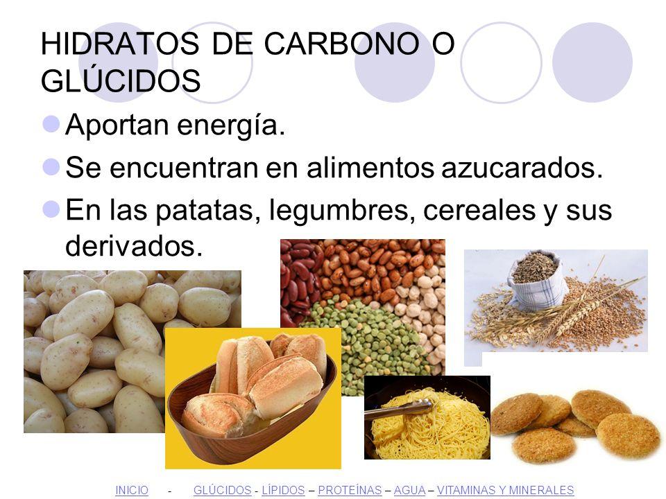 Los nutrientes ppt descargar - Alimentos hidratos de carbono ...