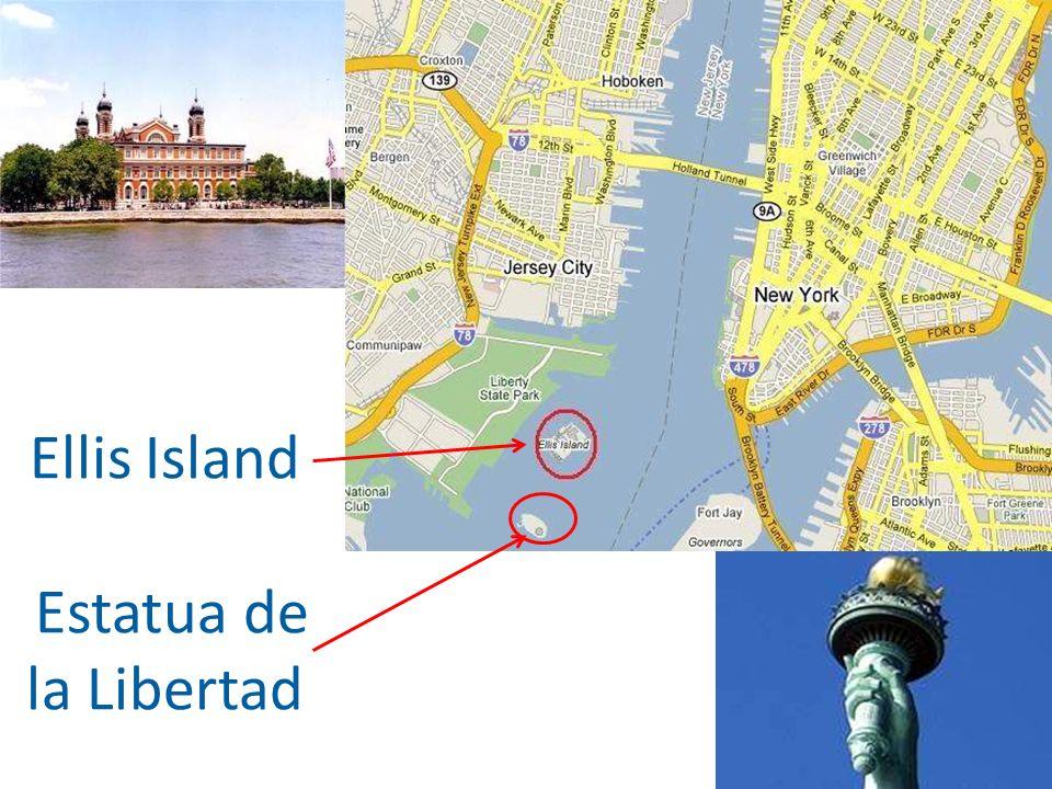 Ellis Island Estatua de la Libertad